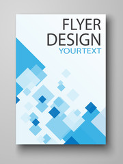 Flyer design - Vector business.  Can be use for publishing, print and  presentation. Vector. Eps 10. Poster template.