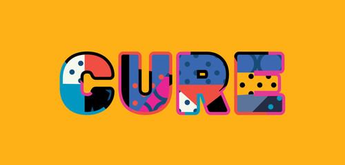 Cure Concept Word Art Illustration