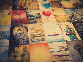 Lenormand cards - oracle card reading - fortune telling - divination