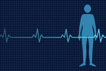 Kardiogramm Mensch
