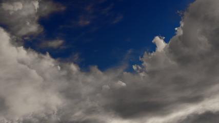 3d Rendering Fluffy Cloud Sky