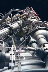 Close Up Rocket Engine
