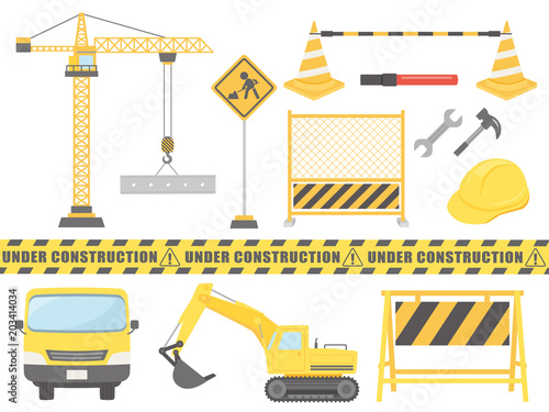 工事のイラスト素材セットfotoliacom の ストック画像とロイヤリティ