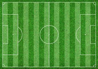 Fußballfeld - Spielfeld