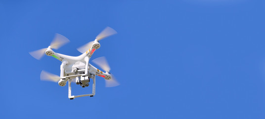 quadcopter which shoots 4k video