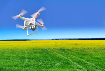 quadrocopter close-up against