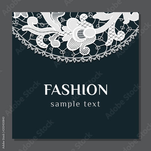 Fashion Template Invitation Card Stock Image And Royalty