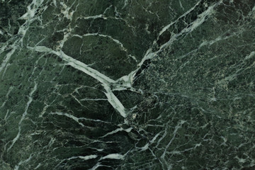 The dark green marble.