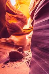 Photo sur Plexiglas Bordeaux Antelope Canyon, Arizona