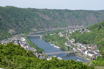 Blick ins Moseltal, Cochem 05/18