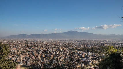 Overview over Kathmandu