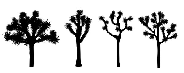 Joshua tree vector collection