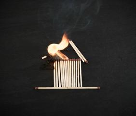 Burning Match House