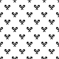 Maracas pattern vector seamless repeating for any web design