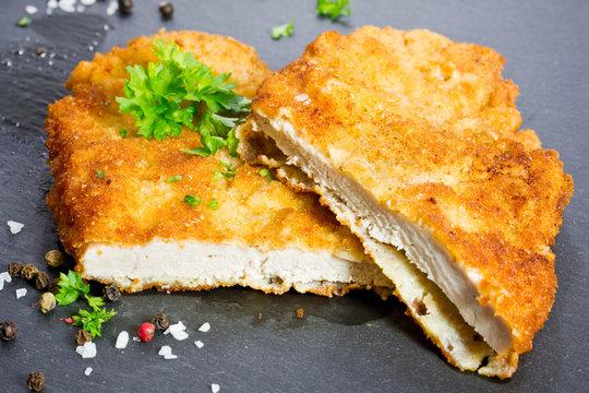 paniertes Schnitzel