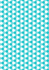 Seamless Hexagon Pattern Honeycomb Texture