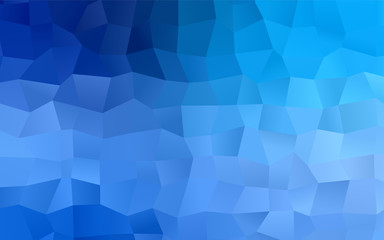Light BLUE vector abstract background.
