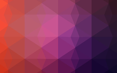 Light Pink, Red vector abstract mosaic backdrop.
