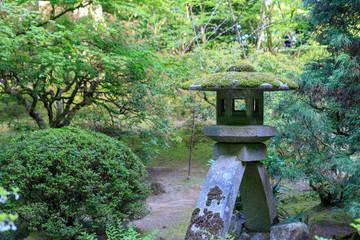 Beautiful Japanese Garden in Portland at spring season