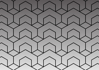 Abstract geometric pattern with lines background.