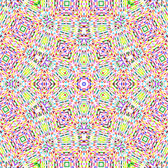 Bright mosaic color pattern