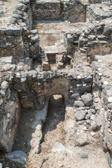 Ruins of Kursi  - a large Byzantine 8th-century monastery in which Jesus Christ performed miracles on the shores of Lake Tiberias, on the Golan Heights.