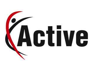 Active Fitness Gym logo