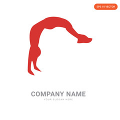 backflip company logo design