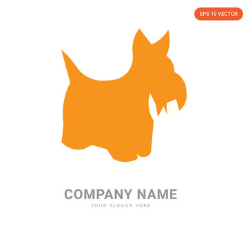 scottie dog company logo design