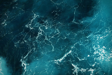 deep blue sea water texture