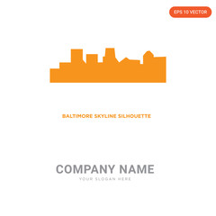 baltimore skyline company logo design