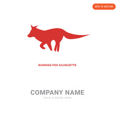 running fox company logo design
