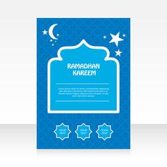 Modern Brochure Ramadan Kareem