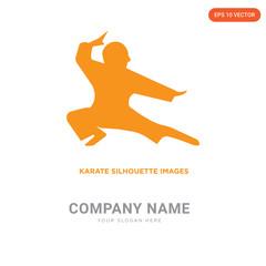 karate company logo design