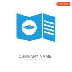 Map company logo design