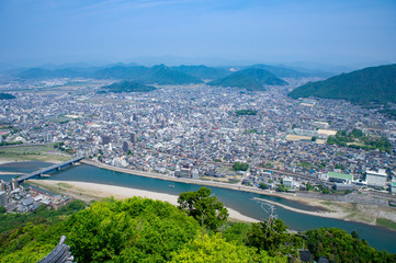 岐阜城からの眺め