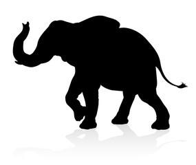 Elephant Animal Silhouette