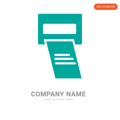 Printer company logo design