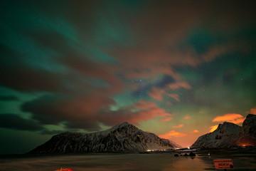 polar lights in Norway