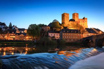 Burg Runkel bei Nacht IV