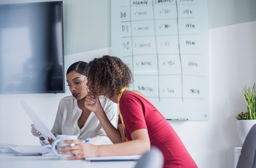 Businesswomen in meeting in office