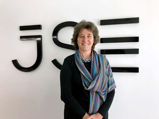 South Africa's stock exchange CEO Nicky Newton-King  poses for a photograph at the JSE offices in Sandton, South Africa