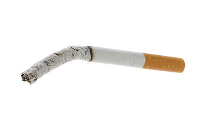 Smoked Cigarette with Shallow Depth of Field