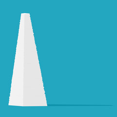 Mountain paperwork icon