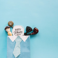 Fathers day concept with envelope