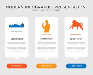 baboon, james bond, detroit sky infographic