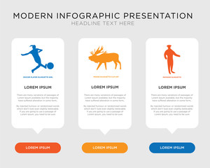 matador, moose, soccer player infographic