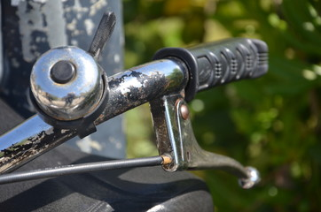 bicycle iron detail