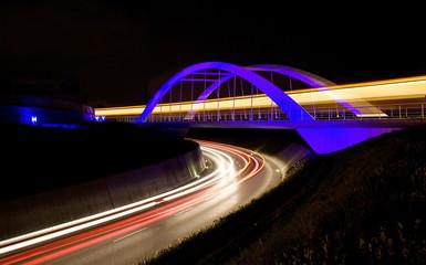 blaue Brücke Stuttgart