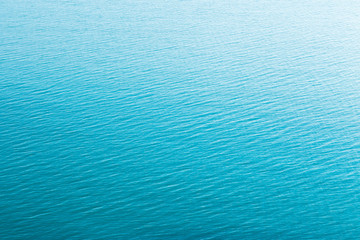 The texture of the water surface with slight ripples. Gradient effect